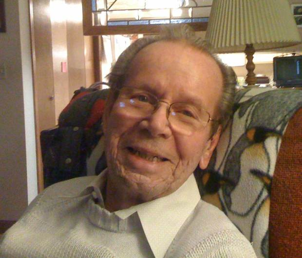 My Daddy - Bob Gillis 88 years old.